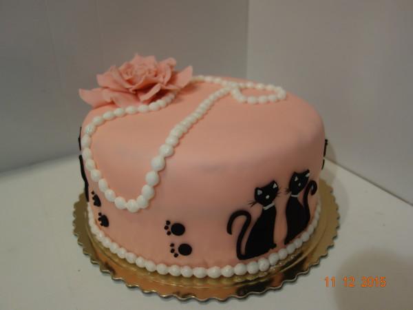 Tort Z Kotami Na 30 Urodziny Lidia Piecze