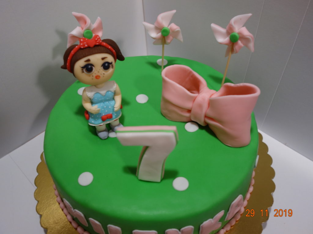 Tort- kosz kwiatów na urodziny | Lidia piecze